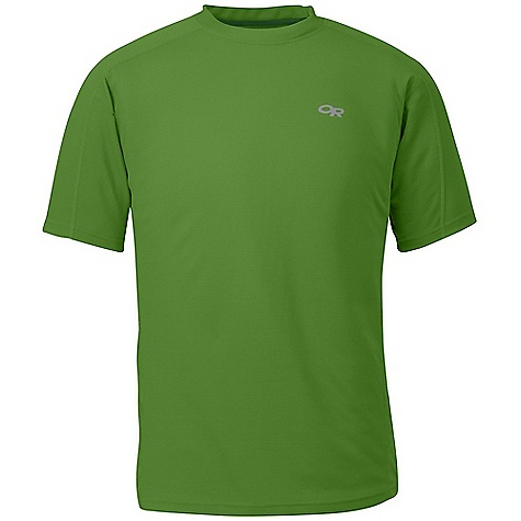 Free Shipping. Outdoor Research Men's Torque SS Tee DECENT FEATURES of the Outdoor Research Men's Torque Short Sleeve Tee Lightweight Quick Drying Wicking UPF 15 Polygiene Active Odor Control Venting Mesh Panels Wordmark Reflective Hem Wrap Label The SPECS Weight: (L): 4.6 oz / 129 g Fit: Trim Polartec Power Dry: 76% polyester, 24% polypropylene fabric, 100% polyester mesh side panels This product can only be shipped within the United States. Please don't hate us. - $58.95