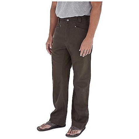 Fitness Free Shipping. Royal Robbins Men's Granite Utility Pant DECENT FEATURES of the Royal Robbins Men's Granite Utility Pant Tonal stitching details Triple needle stitching at high stress points Stretch for range of motion Drop-in cell phone pocket Logo rivet reinforced pockets Back patch pockets Double layer heel kick Full length running gusset The SPECS Regular fit Fabric: Kick Back Canvas 8 oz 97% Cotton / 3% Spandex Enzyme and stone washed UPF 50+ - $71.95