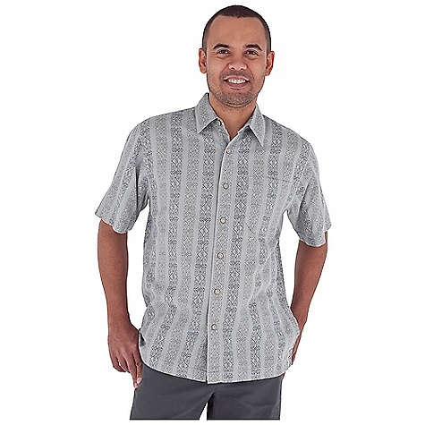 Entertainment Free Shipping. Royal Robbins Men's Cool Mesh Print S-S Top DECENT FEATURES of the Royal Robbins Men's Cool Mesh Print Short Sleeve Top Single chest pocket Straight hem with side vents The SPECS Relaxed fit Fabric: Island Cool Mesh 4 oz 100% Cotton Garment washed - $54.95