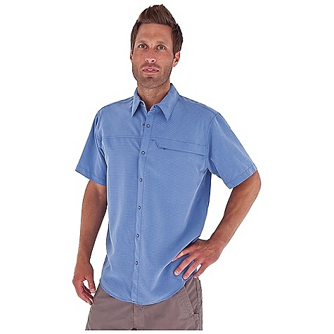 Entertainment Free Shipping. Royal Robbins Men's Desert Traveler S-S Top DECENT FEATURES of the Royal Robbins Men's Desert Traveler Short Sleeve Top Tonal stitching details Sand washed finish Zip secured chest pocket Front and back yoke set on cross grain for subtle detail Shirt tail hem The SPECS Regular fit Fabric: 4.7 oz Desert Pucker Modal 80% Modal Rayon, 20% Polyester - $54.95