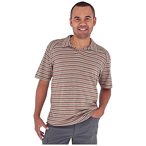 Entertainment Free Shipping. Royal Robbins Men's Flynn Stripe Cricket Top DECENT FEATURES of the Royal Robbins Men's Flynn Stripe Cricket Top Tonal stitching details Rotated shoulder seams Straight hem with side vents The SPECS Relaxed fit Fabric: Flynn Jersey Stripe 6 oz 55% Hemp / 45% Organic Cotton Garment washed UPF 50+ - $54.95