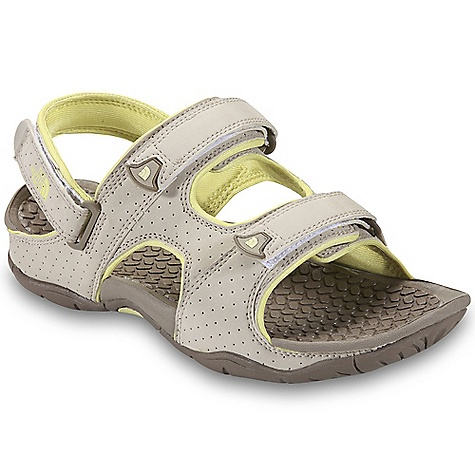 Surf Free Shipping. The North Face Women's El Rio II Sandal DECENT FEATURES of The North Face Women's El Rio II Sandal Upper: Quick-drying, synthetic nubuck upper SBR lining ensures all-day comfort in wet and dry conditions Three points of hook-and-loop adjustment at forefoot, instep and heel for personalized fit Bottom: Compression-molded EVA footbed HydroTrak sticky-rubber outsole for increased traction in wet and dry environments The SPECS Last: L/TNF-S1 Approx Weight: 1/2 pair: 7.5 oz / 214 g, pair: 15 oz / 428 g This product can only be shipped within the United States. Please don't hate us. - $54.95