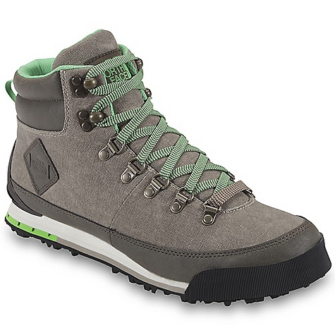 Free Shipping. The North Face Men's Back-To-Berkeley Boot Canvas The North Face men's Back-To-Berkeley Boot Canvas UPPER/ 100% cotton canvas upper Protective, PU-coated leather mudguard Durable, metal lace hardware Tonal, secondary lace option Comfortable, moisture-wicking Trek-Dry lining OrthoLite footbed BOTTOM/ Die-cut EVA midsole Durable, 40% recycled rubber outsole The SPECS Approximate Weight: 13 oz (370 g) / 1 lb 10 oz (740 g) based on Men's 9 This product can only be shipped within the United States. Please don't hate us. - $109.95