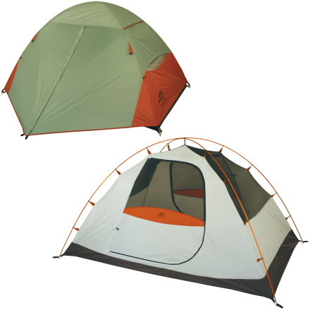 Camp and Hike When youre sharing a tent with three other people, you need all the ventilation you can get. The Alps Mountaineering Lynx AL 4-Person Tent features four half-mesh walls for excellent breathability and seam-sealed fly and floor construction for three-season camping protection. - $174.97