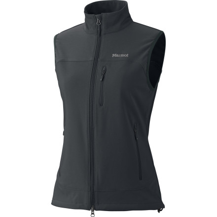 Camp and Hike Protect your core while maintaining full arm freedom with the Marmot Women's Tempo Vest. Ideal for a fall climbing session or brisk hike, the stretchy, water-resistant Tempo helps keep your personal spiritual rhythm in sync with Mother Nature. - $89.95