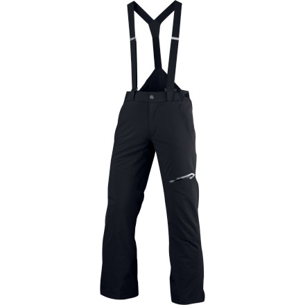 Ski To fill out your winter ski trip ensemble, don the Spyder Bormio Pant. Abundant zippers and a versatile design allow you to adjust the waist, remove the suspenders, and vent at your convenience for an optimal skiing experience. - $112.49