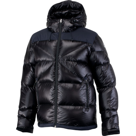 Beat the cold on the windiest, snowiest days with the Spyder Men's Bernese Down Jacket. This high-powered insulator, the warmest down jacket in the Spyder collection, is stuffed with 700-fill down that's lightweight and highly compressible, so it fits easily under your shell jacket. - $119.99