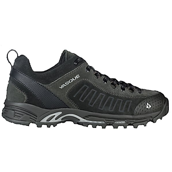 Camp and Hike Vasque Juxt Mens Hiking Boots - The Vasque Juxt Hiking Shoes are a versatile pair of shoes that can be worn to the office and then out onto the hiking trail. Made for the lighter days when you're not backpacking the summit, these shoes are sturdy, stylish and made for the rugged outdoors. The Arc Tempo Last makes moving over challenging ground quickly easier. There's a Molded Rubber Toe Bumper to help keep your toes protected against any unexpected rocks or branches. There is a Dual Density EVA Footbed to keep your feet feeling comfortable when you're out on the trail. Running on the trail or just leisurely strolling in the park, the Vasque Juxt Hiking Shoes are comfortable and tough to handle it all. . Warranty: One Year, Waterproof: No, Material: Suede, PU Coated Leather, Type: Boot, Insulated: No, Sole Material: Molded EVA, Model Year: 2013, Product ID: 306576 - $79.97