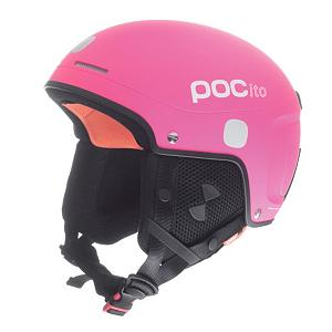 Ski In Spanish, ito means little. Let your little ones rock the slopes in style and with safety. The POCito kids' ski helmet by POC is a clean and sleek helmet that will give kids a grownup look but maintain safety for a smaller head. A basic feature of this helmet is that it offers increased visibility. The helmet's bright, fluorescent color will allow it to stand out on the slopes. It also just looks really cool! There are also reflective patches on this helmet. The structure of the POCito helmet is optimized for smaller heads and lower speeds. Also, for comfort and safety of the ears, the included soft ear pads are a great addition to this POC helmet. It is also made with lighter construction, which offers even more comfort and flexibility. But the feature parents will love the most is the adjustable helmet sizing. This will allow your child to wear the helmet for several seasons, as children quickly grow.  Short Shell,  Ventilation,  Gender: Kids, Category: Half Shell, Audio: Not Compatible, Brim/Visor: No, Adjustability: Full, Model Year: 2017, Product ID: 195423, Model Number: 10150 85 M/L, GTIN: 7332522089069, Shell Construction: Hybrid, Year Round Capable: No, Ventilation: Fixed, Race: No, Warranty: One Year, Certifications: EN 1077 - Class B - $129.95