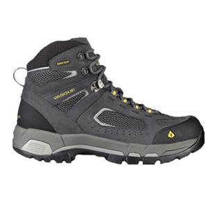 Camp and Hike Vasque Breeze 2.0 GTX Mens Hiking Boots - Lighter, tougher and more breathable, the Vasque Breeze 2.0 Hiking Boots have been redesigned to give you the support and durability needed when on a day-long hiking adventure. You'll have a Waterproof Nubuck Leather Upper which will keep the water from seeping in and ensure you have a durable and reliable pair of boots to handle the outdoors. A Molded Rubber Toe Bumper adds some protection against knocking your toes into rocks, branches or other unforeseen obstacles. The Arc Tempo Last is ideal for agility and quick foot turnover for those dealing with technical ground. Reflective piping is there for safety when the sun begins to set and Gore-Tex Technology gives you unprecedented breathability and waterproofness so your feet stay dry and comfortable longer. Cool and athletic, these light Vasque Breeze 2.0 Hiking Boots is a remastered classic for today's most challenging trails. . Warranty: One Year, Waterproof: Yes, Insulated: No, Model Year: 2013, Product ID: 306273, Sole Material: Dual Density EVA, Type: Boot, Material: Nubuck Leather - $79.90