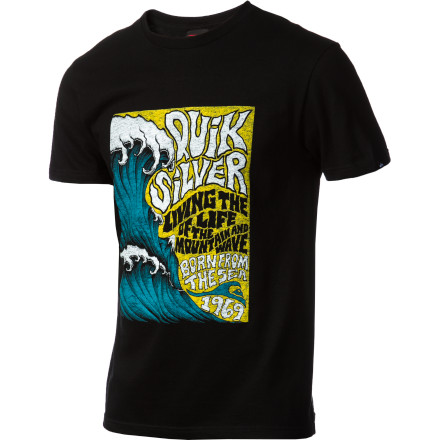 Surf Quiksilver Out The Back T-Shirt - Short-Sleeve - Men's - $18.00