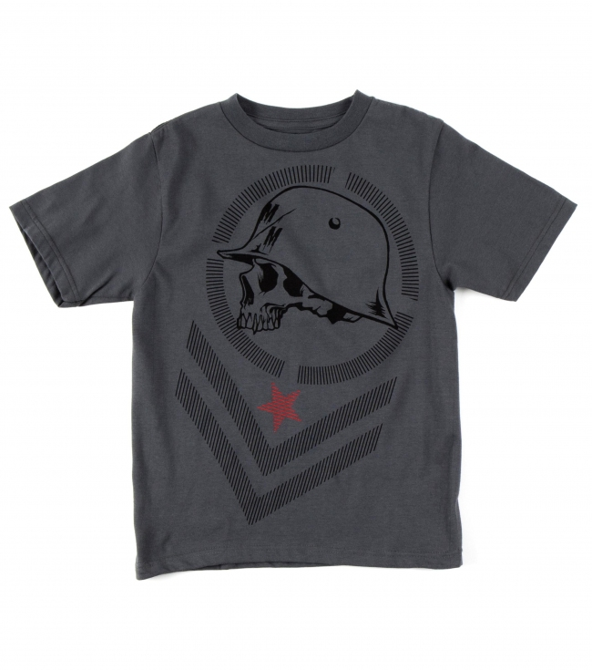 Motorsports Metal Mulisha Kids Tee.  100% Cotton.  Front screenprint. - $12.99