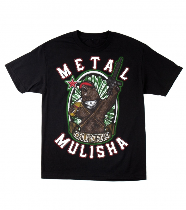 Motorsports Metal Mulisha Mens Tee.  100% Cotton.  Screenprint. - $11.99