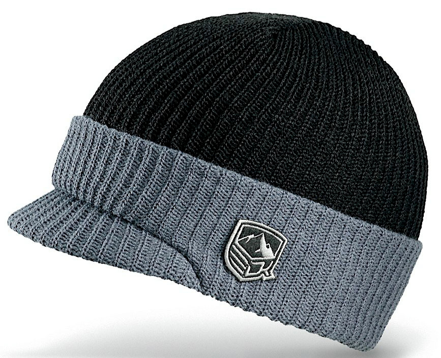 Snowboard Key Features of the Dakine Cuff Visor Beanie: Acrylic ribbed knit Double lined Insert visor - $20.00