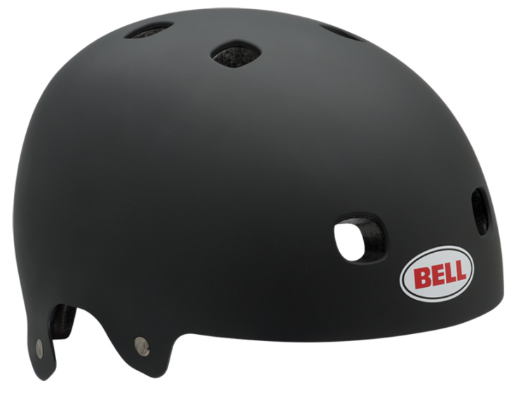 BMX The new Bell Segment utilizes a series of interior EPS foam segments connected by a reinforcing skeleton, allowing the helmet to flex and conform to your head while still meeting safety standards--including the ASTM F2032 BMX enhancement. Key Features of the Bell Segment Bike Helmet: ABS Hard Plastic Shell Segmented EPS Liner WEIGHT: 410 Grams VENTS: 8 CERTIFICATION: ASTM F2032-06, CE EN1078, CPSC Bicycle SEGMENTED EPS LINER: Interior EPS foam segments are connected by the reinforcing skeleton, making the helmet flexible to conform to your head. - $44.95
