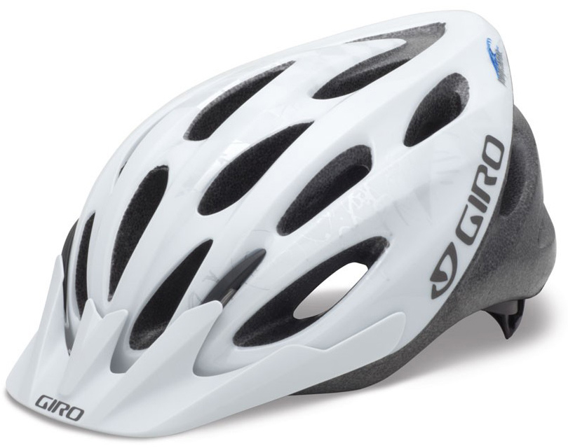 Climbing Giro Indicator Bike Helmet Adjustable White/Silver Explosion - $24.95
