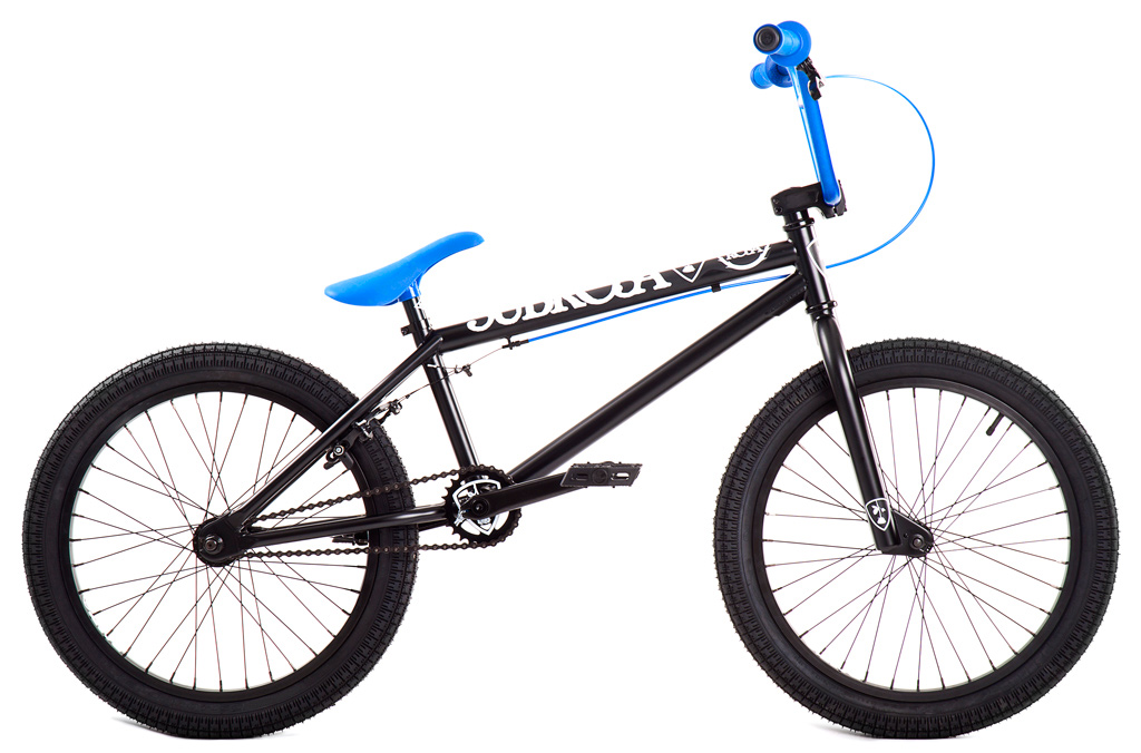 "BMX Key Features of the Subrosa Altus BMX Bike 20"": FRAME: 100% 1020 Hi-Tensile Steel - 75° HT / 71° ST / 20"" TT / 13.75"" CS / 8.5"" standover FORK: 100% 1020 Hi-Tensile Steel - 35mm offset BARS: Subrosa 100% 1020 Hi-Tensile Steel - 7.75"" rise / 12° backsweep / 1° upsweep / 28"" wide GRIPS: Shadow Thirteen BAR ENDS: Shadow Nylon Push In HEADSET: 1 1/8"" threadless headset STEM: Rant Alloy Front Load RIMS: Rant 36H Alloy FRONT HUB: 3/8"" axle steel REAR HUB: Rant 14mm Alloy Semi-Sealed Cassette TIRES: 20 x 2.2 CRANKS: Forged 3pc. 8T 170mm Steel w/ Loose Ball American BB SPROCKET: Subrosa Shield steel GEARING: 25-9 compact gearing CHAIN: Rant 1/8"" PEDALS: Rant Plastic BRAKES: Alloy U-brakes w/ straight cable and Rant alloy lever SEAT / POST: Shadow Solus PC 1pc Seat / Post combo SEAT CLAMP: Slim style alloy WEIGHT: 25.9 lbs - $309.99"