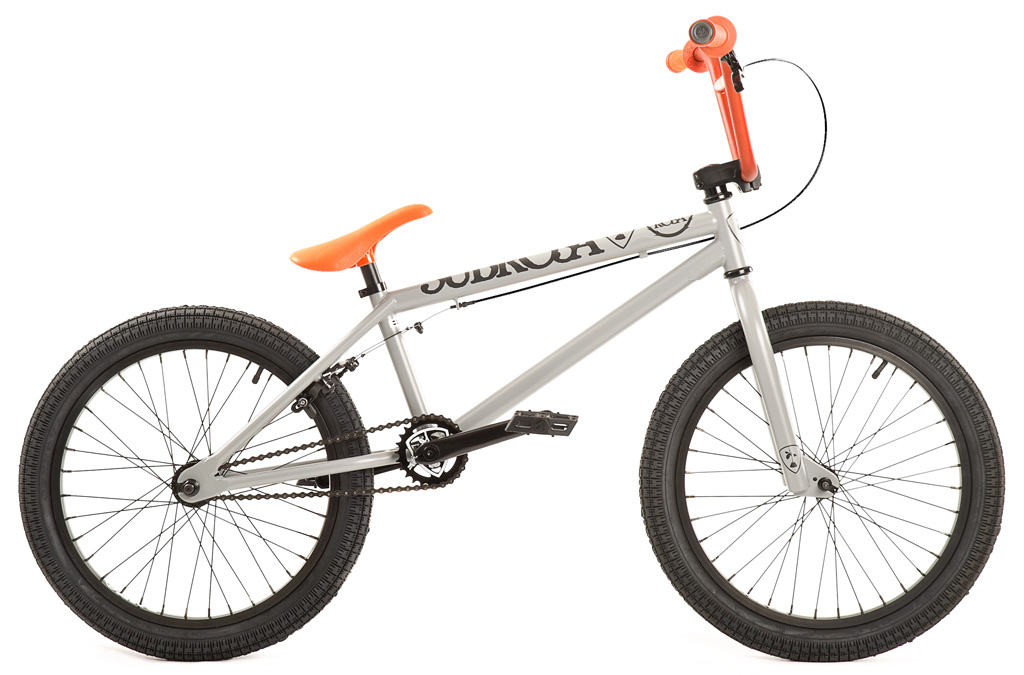 "BMX Key Features of the Subrosa Altus BMX Bike 20"": FRAME: 100% 1020 Hi-Tensile Steel - 75 degree HT / 71 degree ST / 20"" TT / 13.75"" CS / 8.5"" standover FORK: 100% 1020 Hi-Tensile Steel - 35mm offset BARS: Subrosa 100% 1020 Hi-Tensile Steel - 7.75"" rise / 12 degree backsweep / 1 degree upsweep / 28"" wide GRIPS: Shadow Thirteen BAR ENDS: Shadow Nylon Push In HEADSET: 1 1/8"" threadless headset STEM: Rant Alloy Front Load RIMS: Rant 36H Alloy FRONT HUB: 3/8"" axle steel REAR HUB: Rant 14mm Alloy Semi-Sealed Cassette TIRES: 20 x 2.2 CRANKS: Forged 3pc. 8T 170mm Steel w/ Loose Ball American BB SPROCKET: Subrosa Shield steel GEARING: 25-9 compact gearing CHAIN: Rant 1/8"" PEDALS: Rant Plastic BRAKES: Alloy U-brakes w/ straight cable and Rant alloy lever SEAT / POST: Shadow Solus PC 1pc Seat / Post combo SEAT CLAMP: Slim style alloy WEIGHT: 25.9 lbs - $309.99"