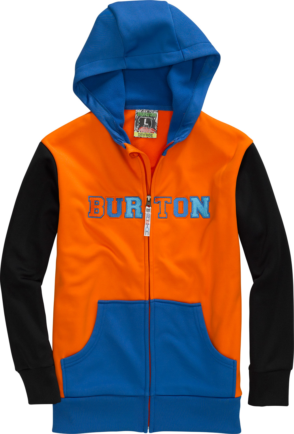 Snowboard Layer it up under a jacket midwinter or rock it solo the rest of the year,the last hoodie you'll ever need.Key Features of the Burton Doom Bonded Hoodie: DRYRIDE Thermex Bonded Fleece Sweatshirt Style Fulltime Hood Kangaroo Handwarmer Pockets Ribbed Cuffs and Hem - $47.95