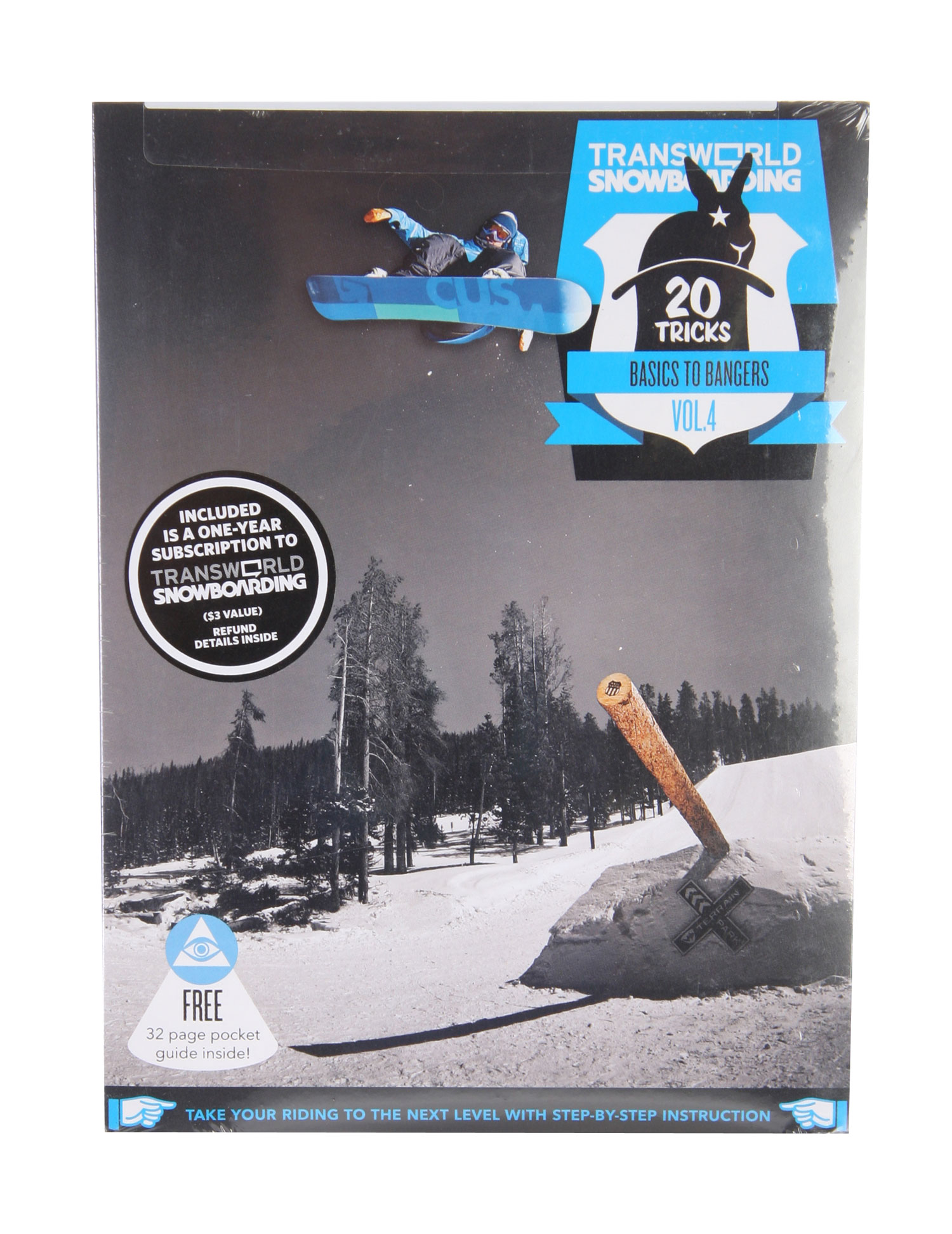 Snowboard Here it is: 20 Tricks Volume II snowboard DVD. Again Transworld enlisted snowboarding's top pros to teach you 20 new tricks. Learn methods from Pat Moore, or one-footers from Josh Dirksen. Simon Chamberlain will let you know everything about his tech box moves, while Andreas Wiig takes you through the frontside 900. And the list of heavies and hammers goes on. - $10.37