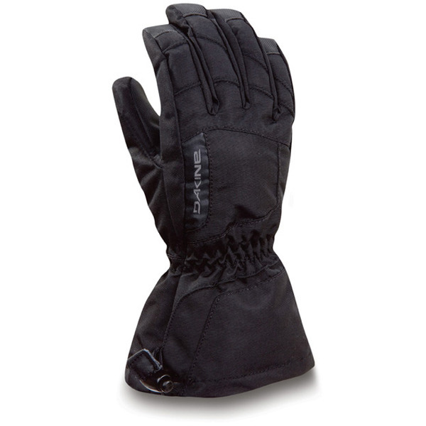 Snowboard Key Features of the Dakine Tracker Snowboard Gloves: Insert: Hipora Waterproof Insulation: Thermoloft [ Glove 140 / 280g ][ Mitt 140 / 350g ] Palm: Durathane Shell Fabric: Weathershield Nylon Lining: 150g Tricot Cuff Closure: One hand cinch gauntlet - $19.95