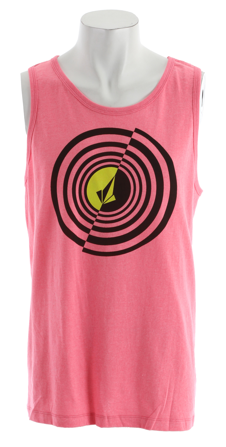 Surf Key Features of the Volcom Circle Stoned Tank: Basic Screenprint Classic Fit 60% cotton/40% polyester - $14.95
