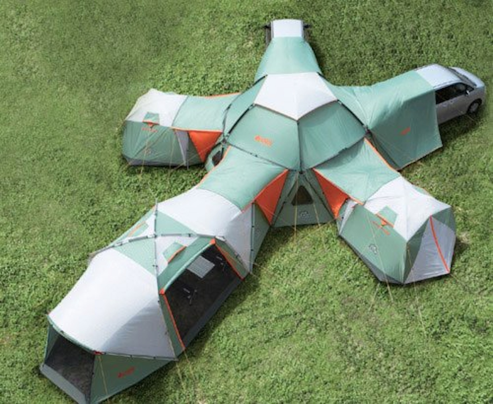 Camp and Hike tent mansion!