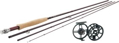 Flyfishing Team up the Echo Edge fly rod with an Echo Ion fly reel for a high-end combo that wont break your budget. Includes Prestige Premier fly line (a $59.99 value) and backing. Never satisfied with the status quo, Echo always looks for ways to improve on their rod designs. Such is the case with this affordable fly-rod series, incorporating the latest technology, versatile actions and ultradurable blanks. All fly-rod models come equipped with TiCHstripper guides, a premium-grade cork grip and alignment dots for quick assembly. Manufacturers lifetime warranty. Made of a hybrid of cast and machined aluminum, these Ion fly reels have all the benefits of a fully machined bar-stock reel without the high price. All fly reels are coated with an impact-resistant matte-black finish. Stainless steel internal components. Images depict the style of the rod handle and may not fully represent the actual length. Color: Black. Type: Freshwater Fly Combos. - $309.99