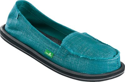 Fitness The carefree comfort of sandals in casual styles suitable for everyday wear. Sanuk OHM My Slip-On Shoes feature handcrafted canvas uppers with a metallic look. Ultrasoft yoga-mat drop-in footbeds with EVA midsoles. Happy U rubber sponge outsoles. Imported.Womens whole sizes:6-10 medium width.Color: Teal. Type: Slip-Ons. Size: 6. Shoe Width: MEDIUM. Color: Teal. Size 6. Width Medium. Color Teal. - $39.88