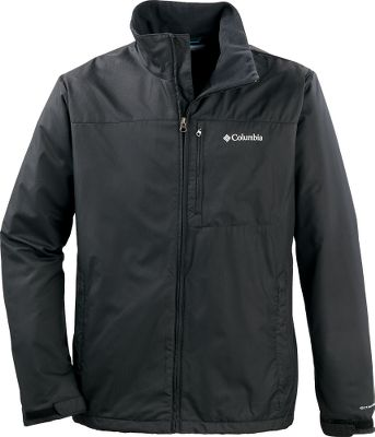 Stay warm and dry in this soft, cozy Columbia Utilizer II Jacket. The polyester dobby shell has water-repellent Omni-Shield technology, protecting you from rain and snow. A featherweight polyester microfleece lining provides super-soft comfort and insulation from the cold. Zippered left chest and handwarmer pockets. Adjustable cuffs. Imported.Sizes: M-2XL.Colors: Black, Tusk. Type: Jackets. Size: 2 X-Large. Color: Black. Size 2xl. Color Black. - $39.99
