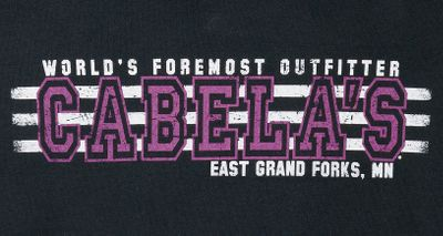 Cabelas store-specific short-sleeve shirts sport graphics from your favorite store. Crafted of comfortable, 6.1-oz. 100% cotton preshrunk jersey knit. Feminine cut without being fitted. Imported. Center back length: 26. Sizes: S-2XL. Styles: Allen, TX; Billings, MT; Boise, ID; Buda, TX; Charleston, WV; Dundee, MI; East Grand Forks, MN; East Hartford, CT; Fort Worth, TX; Glendale, AZ; Gonzales, LA; Grand Junction, CO; Hamburg, PA; Hammond, IN; Hazelwood, MO; Hoffman Estates, IL; Kansas City, KS; Kearney, NE; La Vista, NE; Lacey, WA; Lehi, UT; Louisville, KY (not shown); Mitchell, SD; Owatonna, MN; Post Falls, ID; Prairie du Chien, WI; Rapid City, SD; Reno, NV; Richfield, WI; Rogers, AR; Rogers, MN; Saginaw, MI; Scarborough, ME; Sidney, NE; Springfield, OR; Tulalip, WA (not shown); Wheeling, WV; Wichita, KS. Color: Black. Size: Medium. Color: Springfield. Gender: Female. Age Group: Adult. Material: Cotton. - $7.49