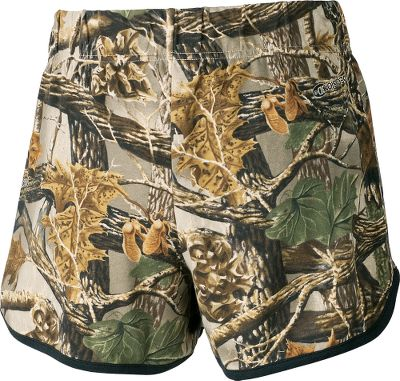 Hunting Your love for camo never has to rest when youre wearing our Camo Sleep Boxer Shorts. Made of 100% cotton, they feature a wide 2 waistband and a comfortable cut that eases through the seat and hips. The modern-rise waist sits higher in the back and scoop sides give you freedom of movement. Imported. Inseam: 4. Sizes: S-2XL. Camo patterns: Realtree APC (Pink), Cabelas Seclusion 3D, Cabelas Zonz Woodlands, Cabelas Zonz Woodlands Pink. Size: Medium. Color: Zonz Woodlands. Gender: Female. Age Group: Adult. Pattern: Camo. Material: Cotton. Type: Sleepwear. - $10.88