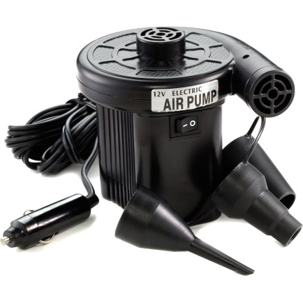Kayak and Canoe Save your breath. The Advanced Elements 12 Volt electric pump conveniently plugs into your motor vehicle's cigarette lighter or accessory socket. - $27.95