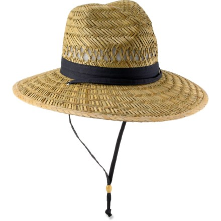 Enjoy a sunny day casting a line or cruising around town with the Columbia Wrangle Mountain(TM) fishing hat. - $13.93