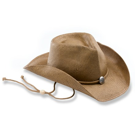 Equally at home on the range or trekking in Spain-- straw hats are naturally light and cool on a hot sunny day. - $24.93