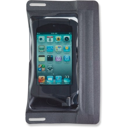 Kayak and Canoe The E-Case iSeries case with jack seals your sensitive iPod or iPhone 4th generation in reliable protection from moisture when you're out in wet weather or enjoying the water. - $9.83