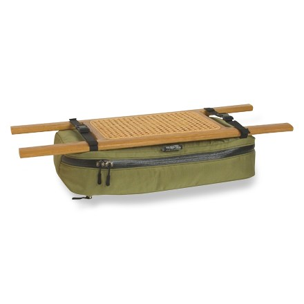 Kayak and Canoe A great storage place to keep items accessible and out of the bilge water, this bag attaches under your canoe seat with two side release buckles. - $45.95