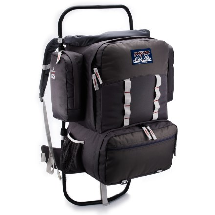 Camp and Hike The JanSport Scout is a trustworthy, affordable external frame pack for the entry-level backpacker. It's designed to grow with you. - $79.93