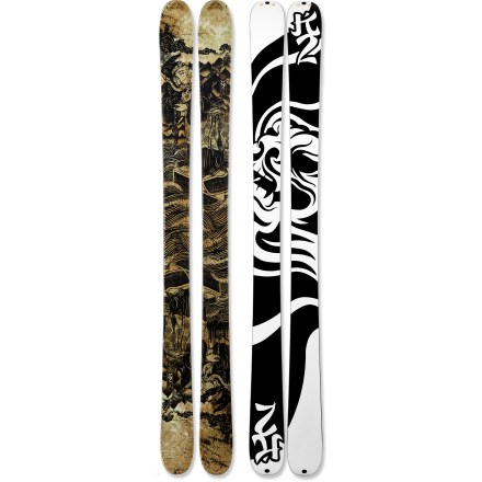 Ski Pep Fujas uses designed pro-model K2 Kung Fujas skis as versatile rippers that will handle any part of the mountain. - $259.83