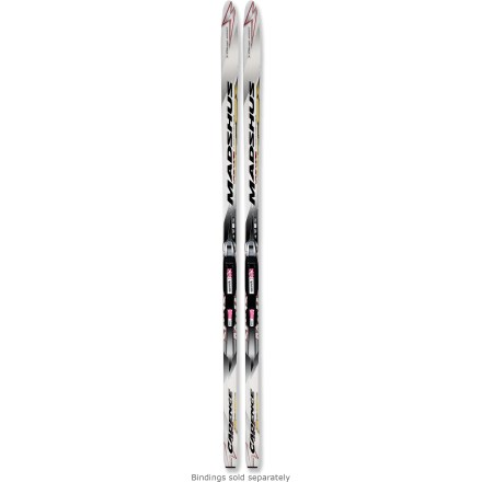 Ski Step into the light and stable Madshus Cadence 90 MG skis and enjoy snow-covered hills and crisp, cool air as you cruise along groomed trails and make fresh tracks. - $39.93