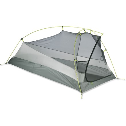 Camp and Hike The Mountain Hardwear SuperMega UL 1 tent is designed for fast backcountry travelers. It's the lightest weight, 1-person backpacking tent in the Mountain Hardwear lineup! - $259.93