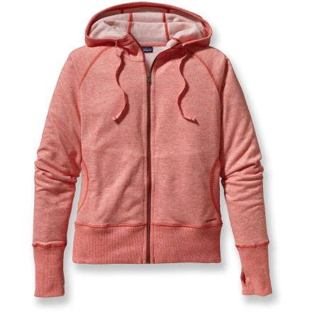 Fitness Generously soft, the Patagonia Cloud Stack hoodie cultivates a relaxed state of mind during your yoga warm up. - $23.83
