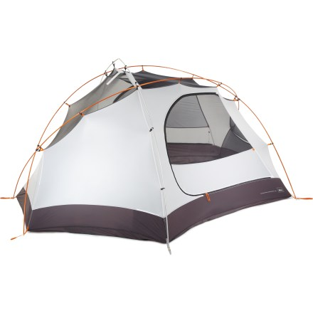 Camp and Hike Heading out on a backpacking trip with 2 friends? Choose the REI Taj 3 tent for your next backcountry adventure. - $190.73
