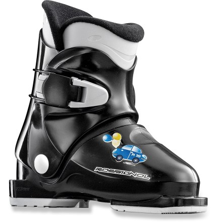 Ski Ideal for the first-timer, the Rossignol R 18 boots are easy to enter and fun to ski in! - $38.83