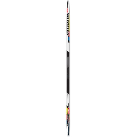 Ski Enjoy a fast day at the Nordic center with the high-performance Salomon Equipe G2 Micro cross-country skis. New G2 Micro grip technology ensures good kick and glide. - $99.93