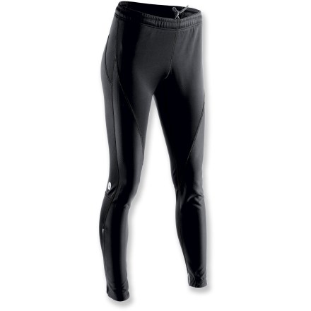 Camp and Hike From biking to hiking to running, the women's Sugoi Firewall 220 tights keep the wind at bay during cold-weather excursions. - $96.73