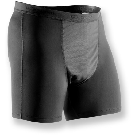 The Sugoi MidZero Wind boxers add a layer of high-performance protection for outdoor cross-training in cool weather. - $27.73