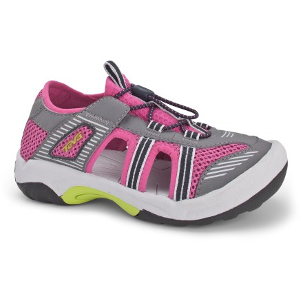 Surf Both trail- and sidewalk-worthy, these Teva Omnium 2 girls' sandals adjust quickly for a comfortable fit. - $12.83