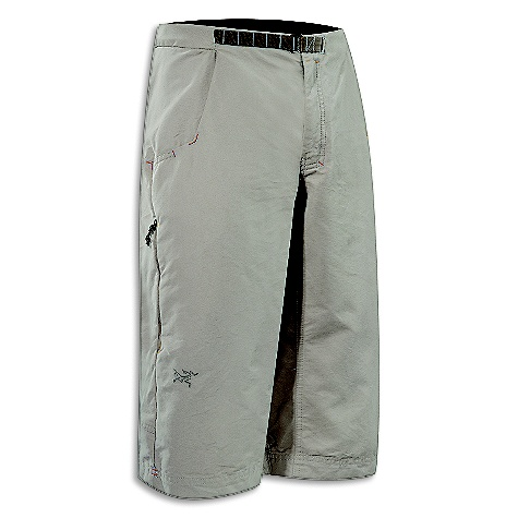 Hunting Free Shipping. Arcteryx Men's Aristo Long Short DECENT FEATURES of the Arcteryx Men's Aristo Long Short Durable canvas fabric Articulated knees and back, gusseted crotch, zipper fly Low profile belt adjustment system Slash hand pockets, patch back pockets, zippered thigh pockets Embroidered BIRD logo We are not able to ship Arcteryx products outside the US because of that other thing. We are not able to ship Arcteryx products outside the US because of that other thing. We are not able to ship Arcteryx products outside the US because of that other thing. We are not able to ship Arcteryx products outside the US because of that other thing. The SPECS Weight: 15 oz / 426 g Fit: Relaxed Fabric: 8.5 oz Cotton Nylon Canvas - 63% cotton, 37% nylon canvas This product can only be shipped within the United States. Please don't hate us. - $118.95