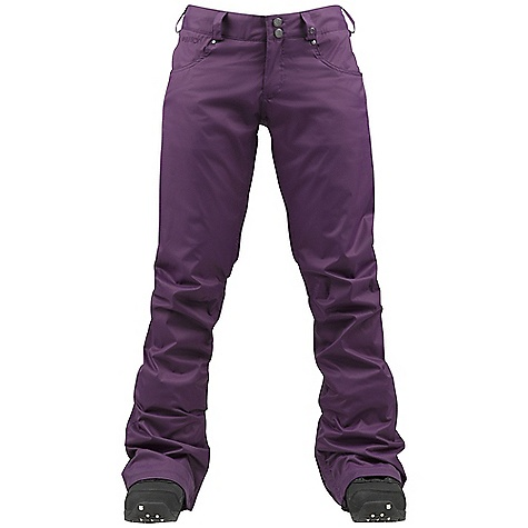 Snowboard On Sale. Free Shipping. Burton Women's TWC Fulltime Flirt Pant DECENT FEATURES of the Burton Women's TWC Fulltime Flirt Pant Waterproofing: Dryride Durashell 2-Layer Raised Twill Fabric Warmth: mapped with Taffeta Lining Mesh-Lined Inner Thigh Vents Fully Taped Seams Includes The White Collection Women's Pant Features Package This product can only be shipped within the United States. Please don't hate us. - $109.99